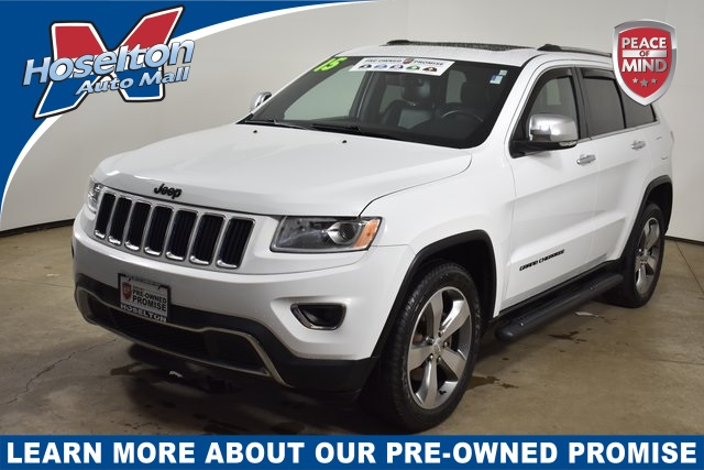 Pre Owned 2015 Jeep Grand Cherokee Limited