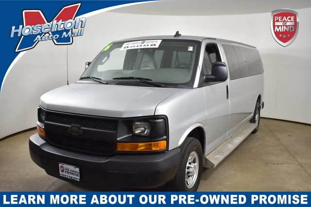 Pre-Owned 2016 Chevrolet Express 3500 LS