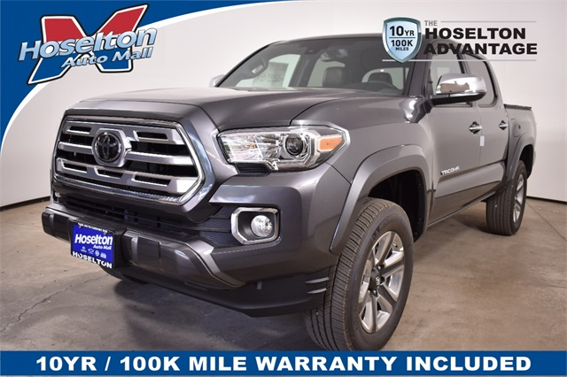 Toyota Tacoma Limited >> New 2018 Toyota Tacoma Limited 4d Double Cab In East Rochester
