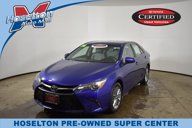Certified Pre Owned 2016 Toyota Camry Se