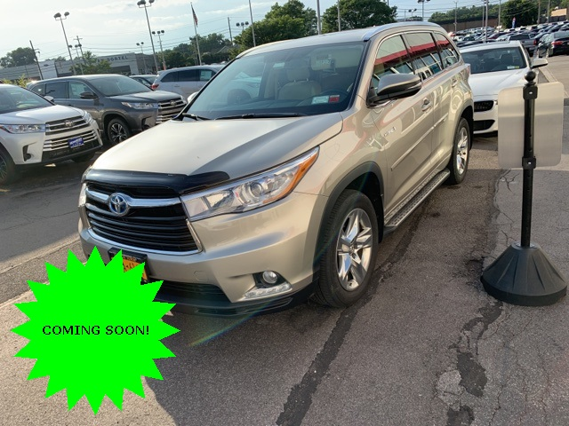 Pre-Owned 2015 Toyota Highlander Hybrid Limited Platinum