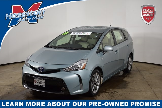 Pre-Owned 2015 Toyota Prius v Five