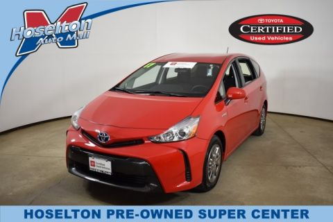 Certified Pre-Owned 2017 Toyota Prius V STD